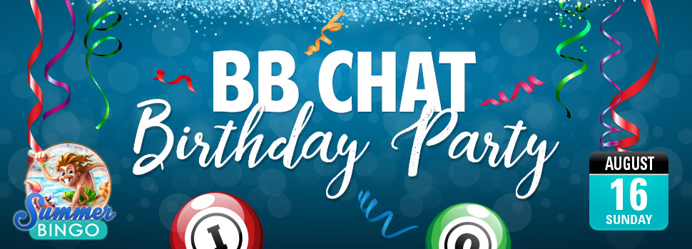BB CHAT BIRTHDAY PARTY