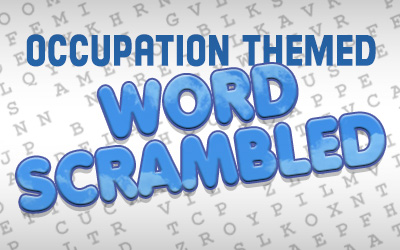 OCCUPATION THEMED WORD SCRAMBLE