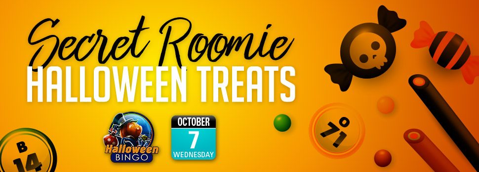 SECRET ROOMIE HALLOWEEN TREATS