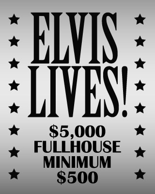 Elvis Lives Fullhouse footer mobile