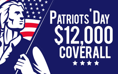 Patriot's Day $12,000 Coveralls