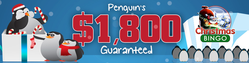 $1,800 Guaranteed Penguins Special