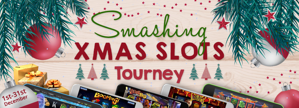 Smashing Christmas Slots Tourney