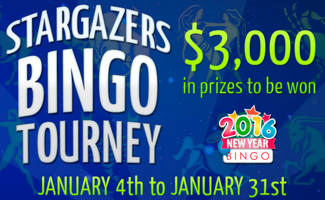 Star Gazers Bingo Tourney