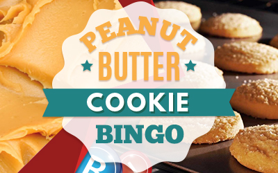 Peanut Butter Cookie Bingo