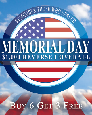 Memorial Day Reverse Coverall mobile