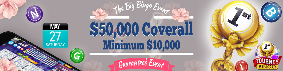 May Big Bingo Event