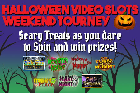 Halloween Video Slots Tourney Mobile