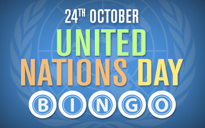 United Nations Day Bingo
