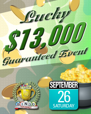 Lucky Guaranteed Bingo Event Mobile