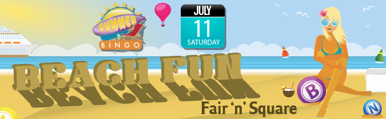 Fair N Square Beach Bingo