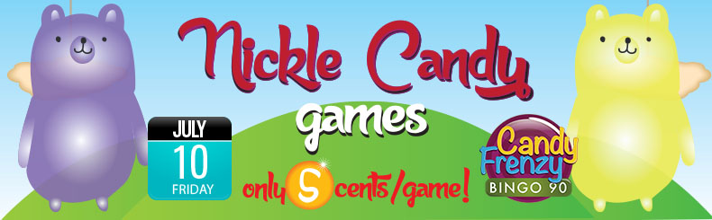 Nickle Candy Bingo Games