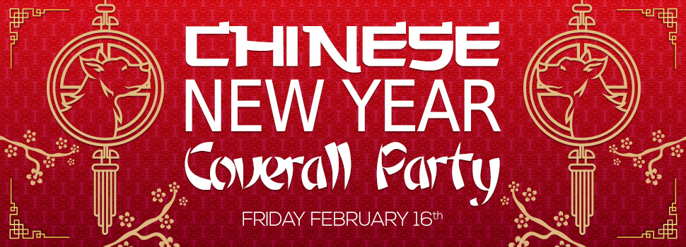 Chinese New Year Coverall Party