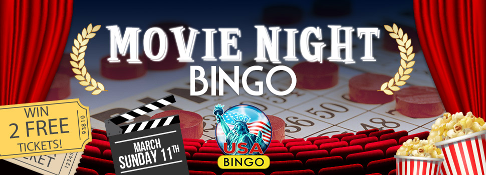 Movie Night Bingo