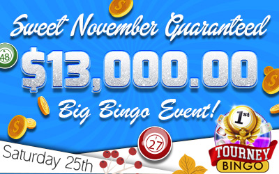 Sweet November $13,000 Guaranteed Event