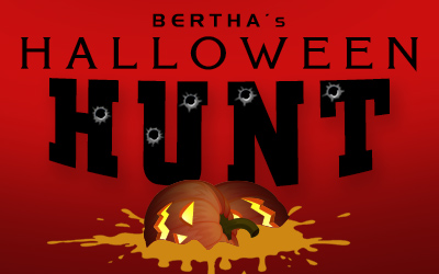Bertha's Halloween Hunt