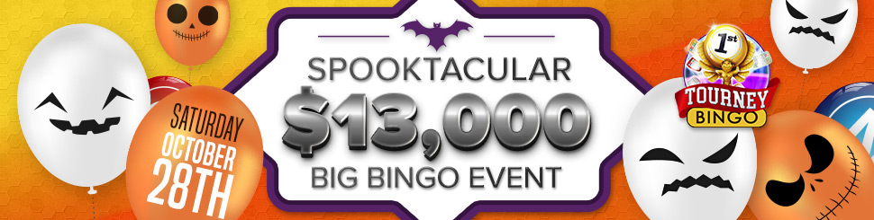 Spooktacular Big Bingo Event