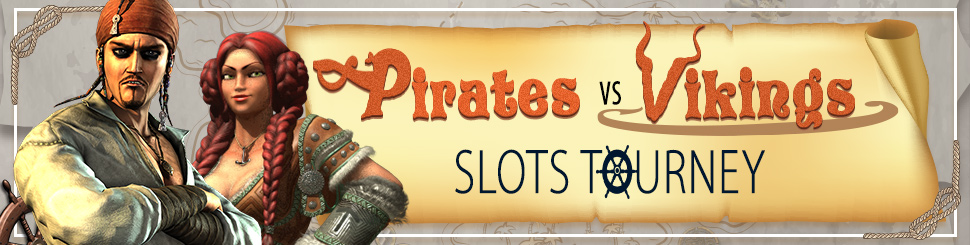 Pirates vs Vikings slots tourney