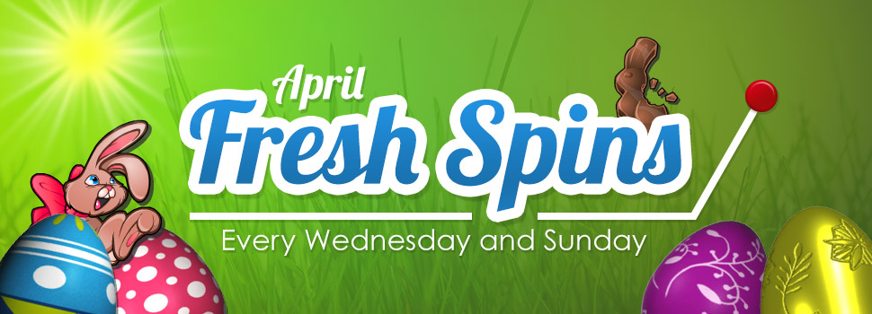 April Fresh Spins