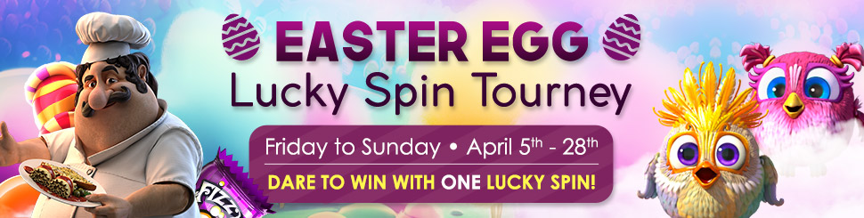 Easter Egg Lucky Spin Tourney
