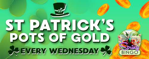 St Patrick's Pots of Gold